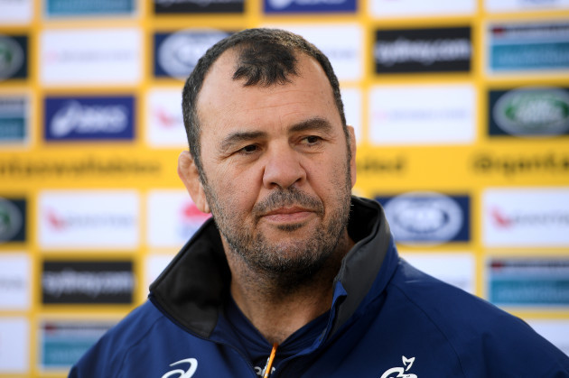 RUGBY WALLABIES PRESS CONFERENCE