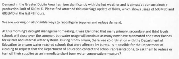 water schools