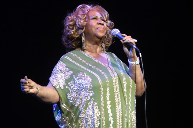 Aretha Franklin in concert - New York