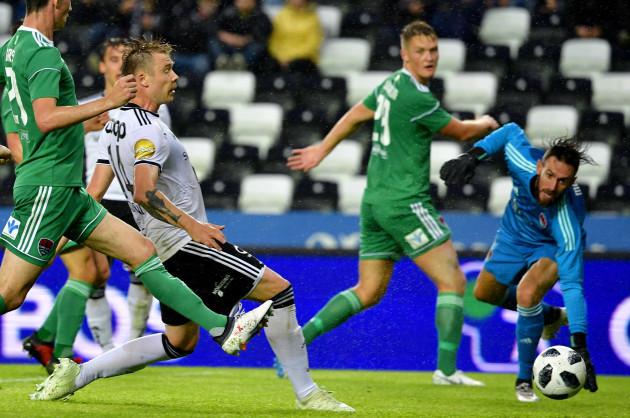Alexander Soderlund scores his sides second goal