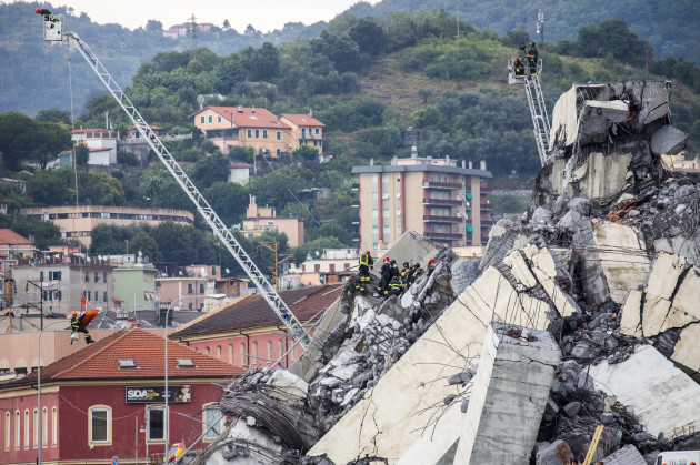 Bridge Collapses in Genoa