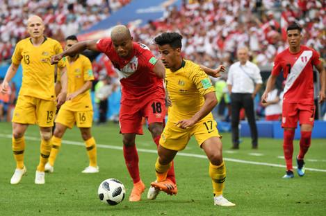 Australia v Peru - FIFA World Cup 2018 - Group C - Fisht Stadium