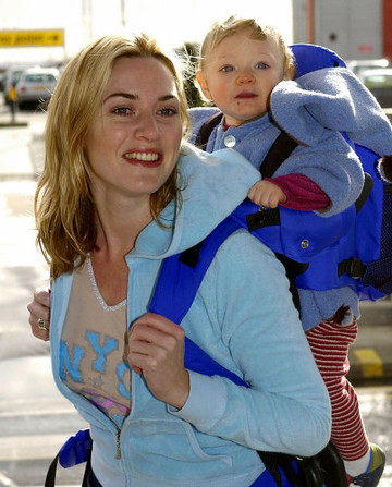 Kate Winslet Leaves Heathrow for LA