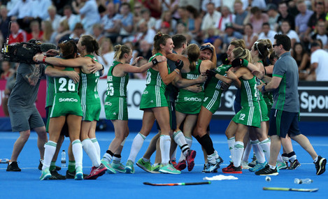 Ireland v India - Vitality Women's Hockey World Cup - Quarter Final - Lee Valley Hockey and Tennis Centre