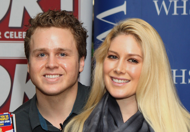Heidi Montag and Spencer Pratt Magazine Signing - London