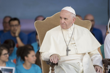 Italy: Pope Francis Leads In Rome's Circus Maximus An Evening Prayer Vigil With Youths