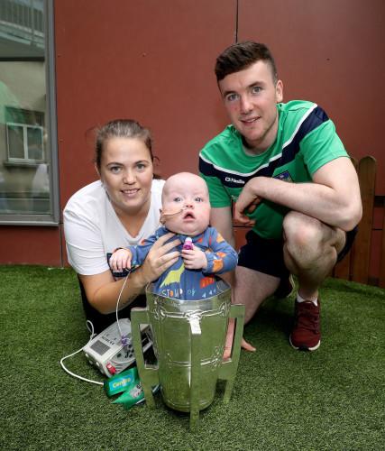 Declan Hannon with Harley Kenny and Alannah Dawson
