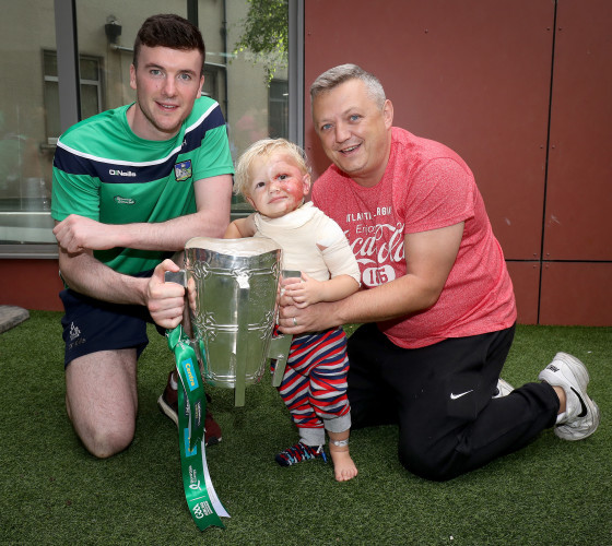 Declan Hannon with Phillip and Alan Dunne