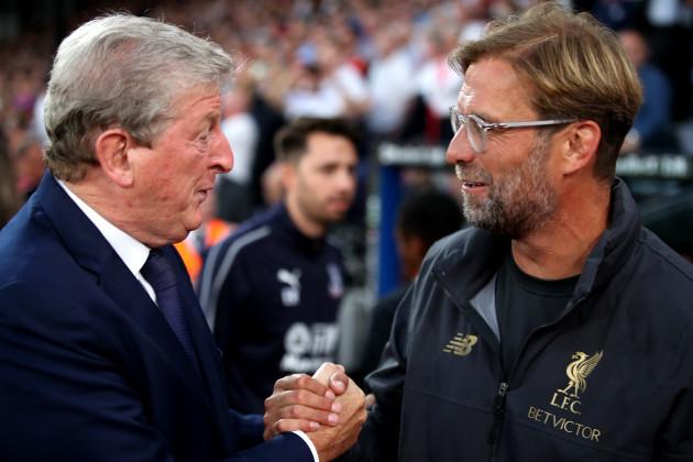 Crystal Palace v Liverpool - Premier League - Selhurst Park