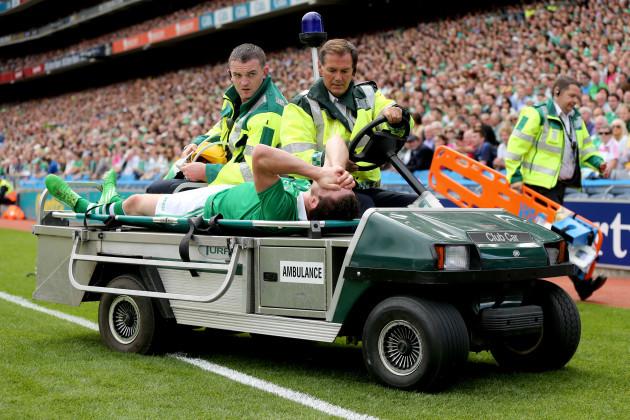 Seamus Hickey injured