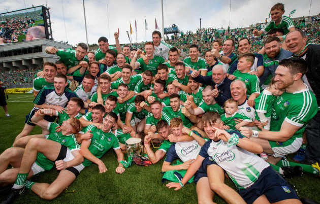 Limerick celebrate with The Liam MacCarthy