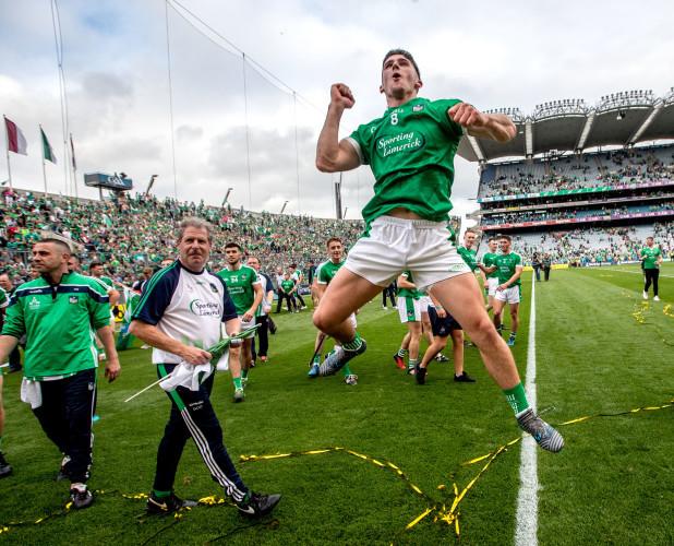 Darragh O'Donovan celebrates