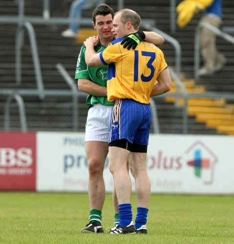 Stephen Lucey with Michael O'Shea