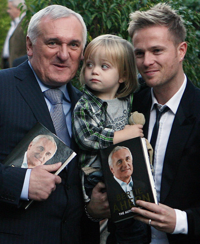 Bertie Ahern autobiography launch