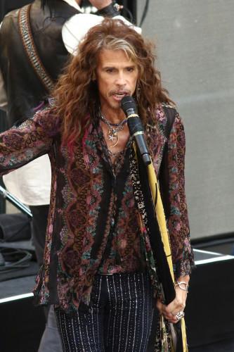 Aerosmith on NBC Today Show concert Series - New York