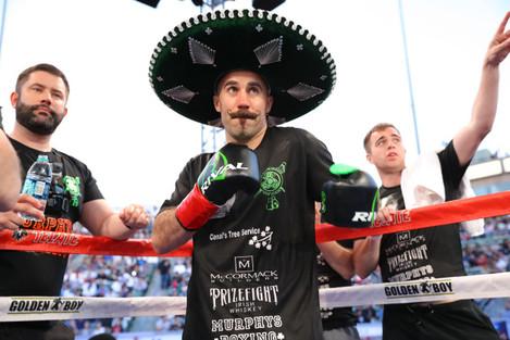 Gary O'Sullivan ahead of the fight