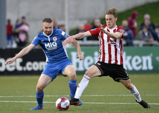 Kevin McHattie with Conan Byrne