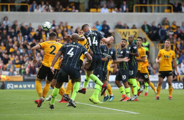 Wolverhampton Wanderers v Manchester City - Premier League - Molineux
