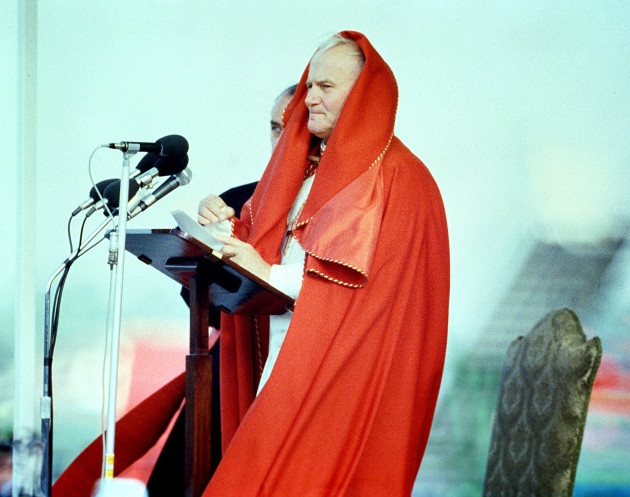 Pope John Paul II visit to Ireland
