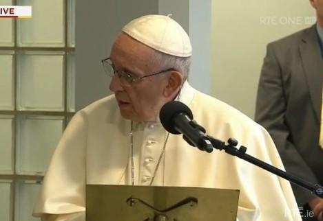 rte pope capuchin