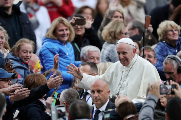 Pope Francis visit to Ireland - Day 1