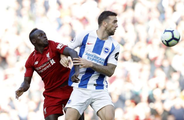 Liverpool v Brighton & Hove Albion - Premier League - Anfield