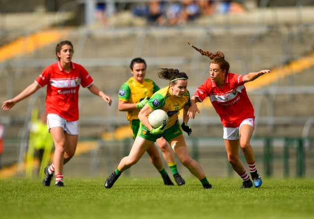 Cork v Donegal - TG4 All-Ireland Ladies Football Senior Championship Semi-Final