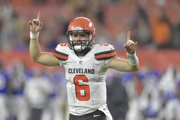 Browns-Mayfield Camp Football