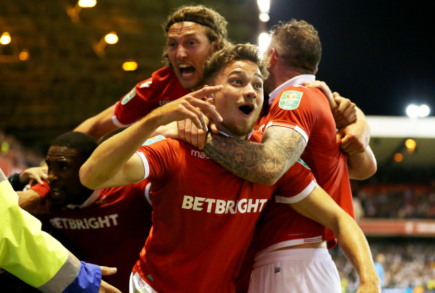 Nottingham Forest v Newcastle United - Carabao Cup - Second Round - City Ground