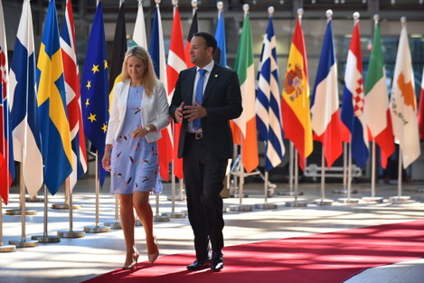 Belgium: Political Leaders Attend The June 2018 EU Council Meeting