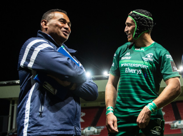 Pat Lam and Ultan Dillane