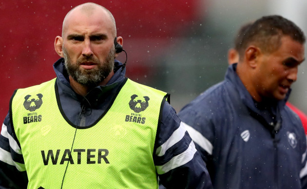 John Muldoon and Pat Lam