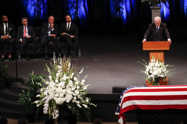 AZ: North Phoenix Baptist Church for a memorial service for Sen. John McCain