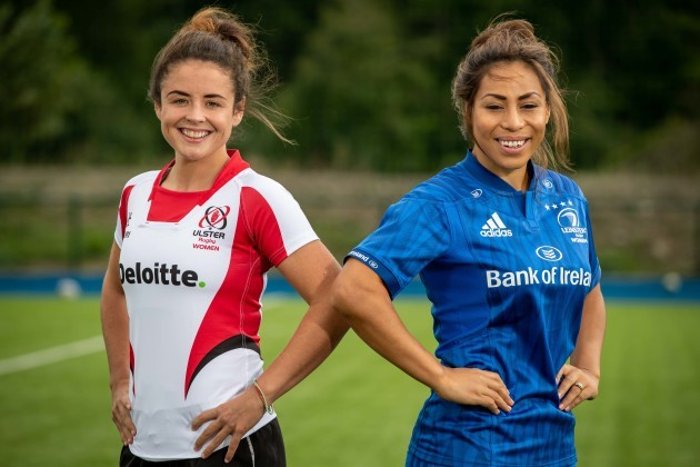 Larissa Muldoon and Sene Naoupu