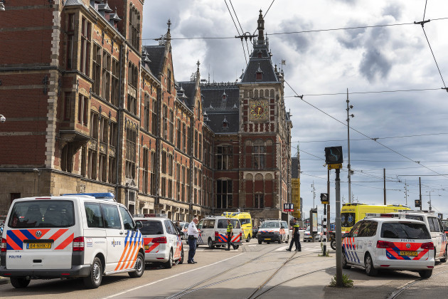 THE NETHERLANDS-AMSTERDAM-STABBING INCIDENT