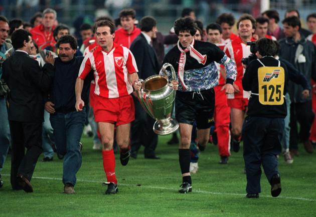 Soccer - European Cup - Final - Red Star Belgrade v Olympic Marseille