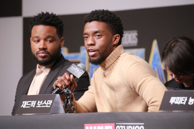 Black Panther Publicity Event - Korea