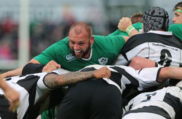 Rugby Union - Friendly - Ireland v Barbarians - Thomond Park