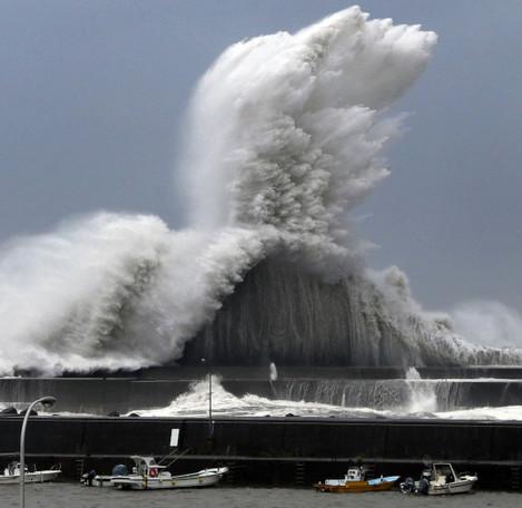 CORRECTION Japan Asia Storm