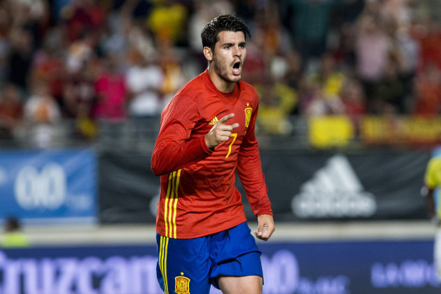 Spain: Friendly match between Spain and Colombia