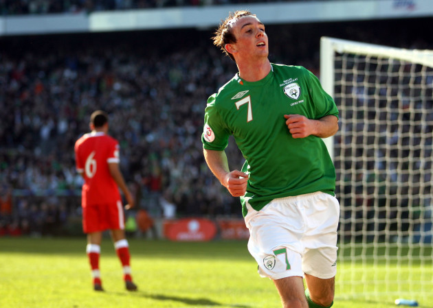 Soccer - UEFA European Championship 2008 Qualifying - Group D - Republic of Ireland v Wales - Croke Park