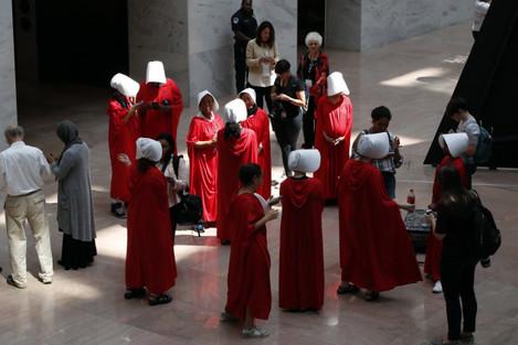 Senate Supreme Court Protesters