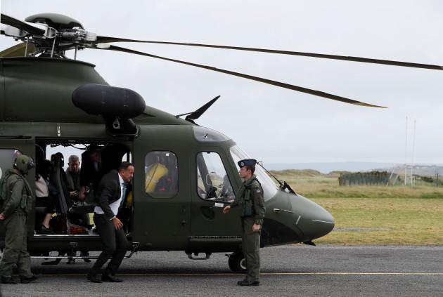Taoiseach visits Aran Islands