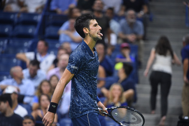 US Open - Novak Djokovic
