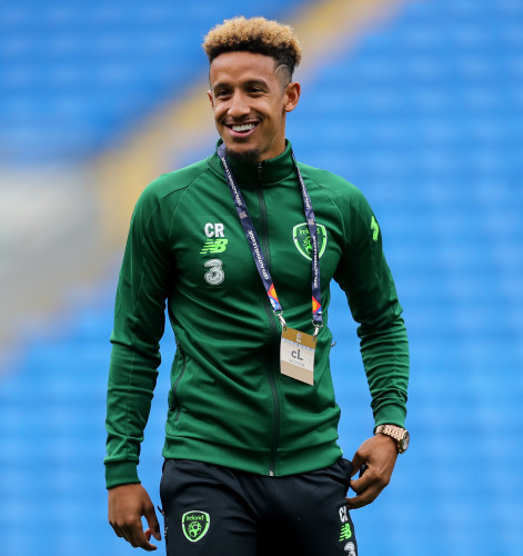 Callum Robinson ahead of the game