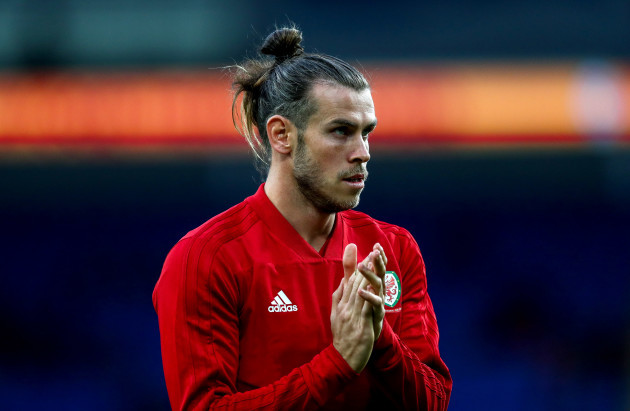 Gareth Bale ahead of the game