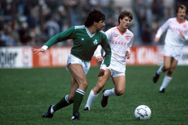 Soccer - World Cup Qualifier - Group Six - Ireland v Denmark