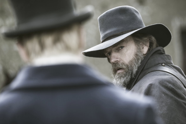 Hugo Weaving in Black 47, Directed by Lance Daly