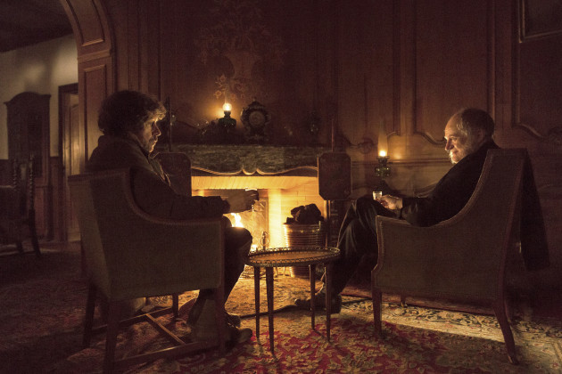 Stephen Rea and Jim Broadbent in Black 47, Directed by Lance Daly