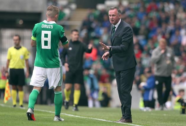 Northern Ireland v Bosnia and Herzegovina - UEFA Nations League - League B - Group Three - Windosr Park